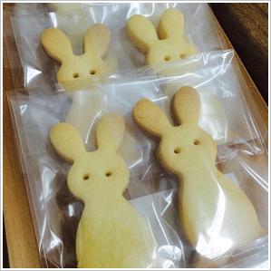 うさぎのクッキー 150円(税込)