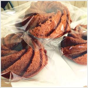 キャラメルケーキ 420円(税込)
